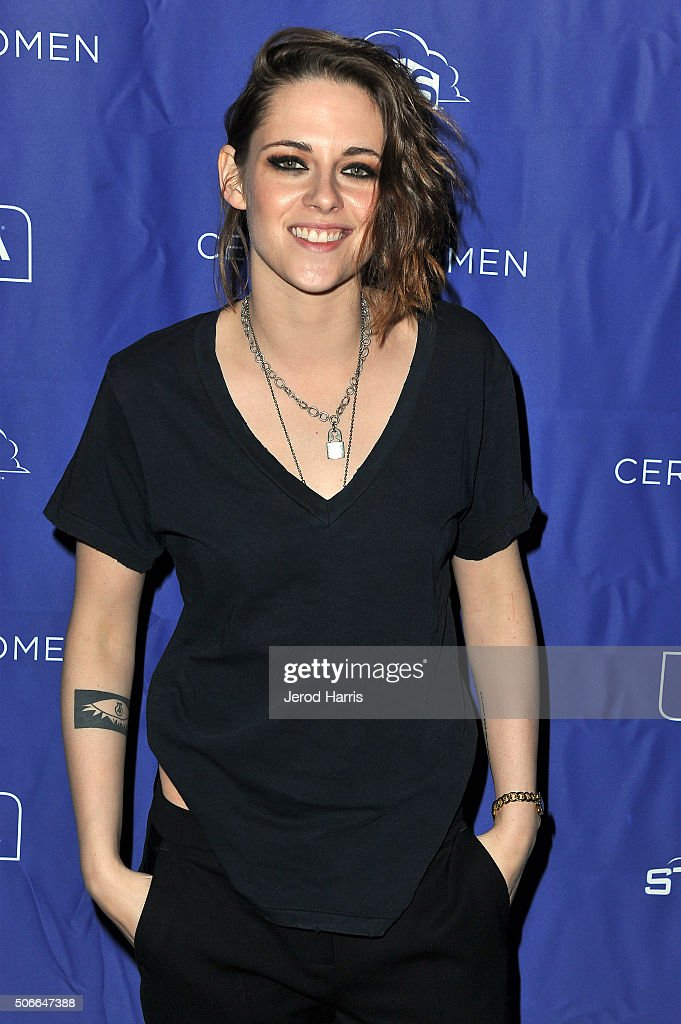Actress Kristen Stewart attends the Certain Women event hosted by Luna at Sundance Film Festival on January 24, 2016 in Park City, Utah.