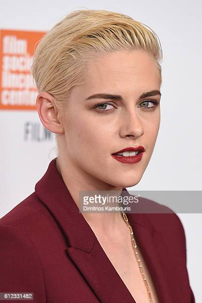 Actress Kristen Stewart attends the 'Certain Women' premiere during the 54th New York Film Festival at Alice Tully Hall Lincoln Center on October 3...