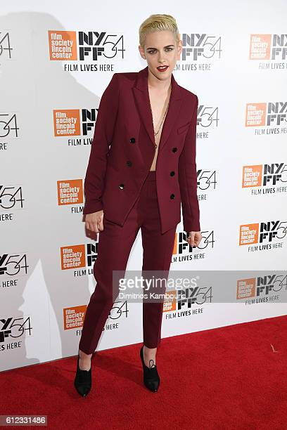 Actress Kristen Stewart attends the Certain Women premiere during the 54th New York Film Festival at Alice Tully Hall Lincoln Center on October 3...