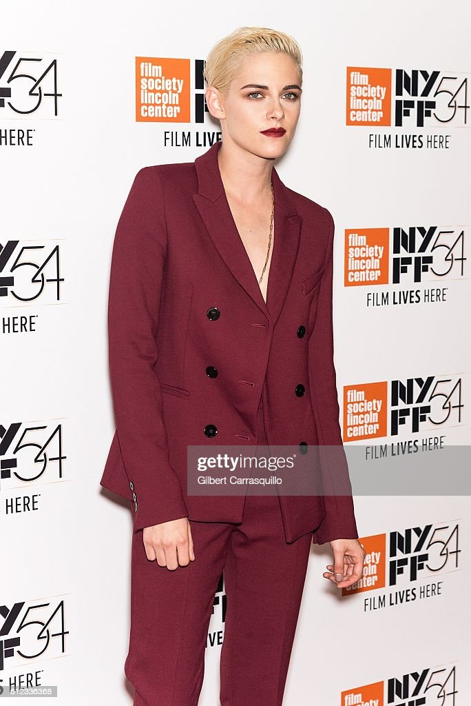 Actress Kristen Stewart attends the 'Certain Women' premiere during the 54th New York Film Festival at Alice Tully Hall, Lincoln Center on October 3, 2016 in New York City.