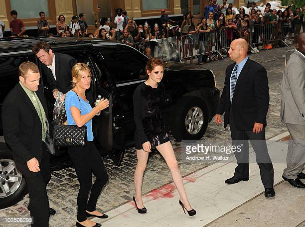 Actress Kristen Stewart attends The Cinema Society Piaget screening of 'Twilight Saga Eclipse' at the Crosby Street Hotel on June 28 2010 in New York...