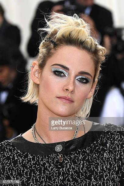Actress Kristen Stewart attends the Manus x Machina Fashion In An Age Of Technology Costume Institute Gala at Metropolitan Museum of Art on May 2...