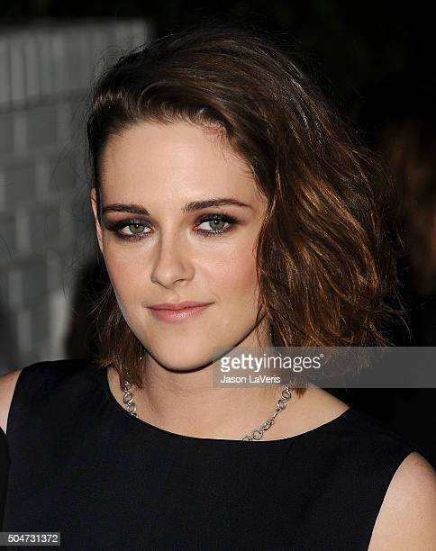 Actress Kristen Stewart attends the Marie Claire Image Maker Awards 2016 at Chateau Marmont on January 12 2016 in Los Angeles California