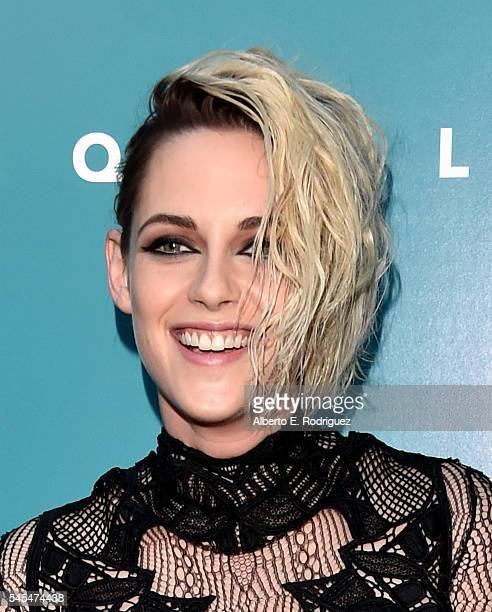 Actress Kristen Stewart attends the premiere of A24's 'Equals' at ArcLight Hollywood on July 7 2016 in Hollywood California