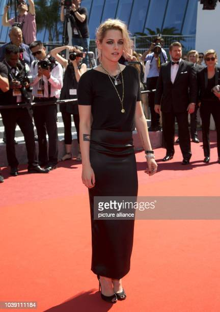 Actress Kristen Stewart attends the premiere of 'American Honey' during the 69th Annual Cannes Film Festival at Palais des Festivals in Cannes France...