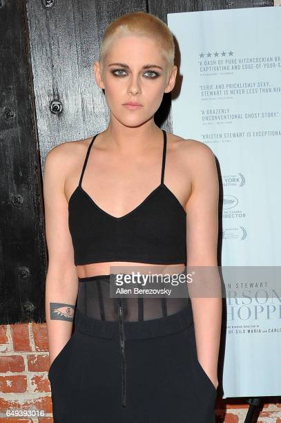 Actress Kristen Stewart attends the premiere of IFC Films' Personal Shopper at The Carondelet House on March 7 2017 in Los Angeles California