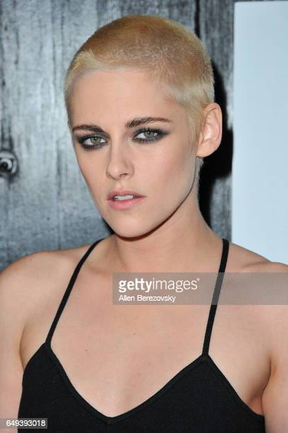 Actress Kristen Stewart attends the premiere of IFC Films' 'Personal Shopper' at The Carondelet House on March 7 2017 in Los Angeles California