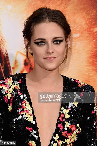Actress Kristen Stewart attends the premiere of Lionsgate's 'American Ultra' at Ace Theater Downtown LA on August 18 2015 in Los Angeles California