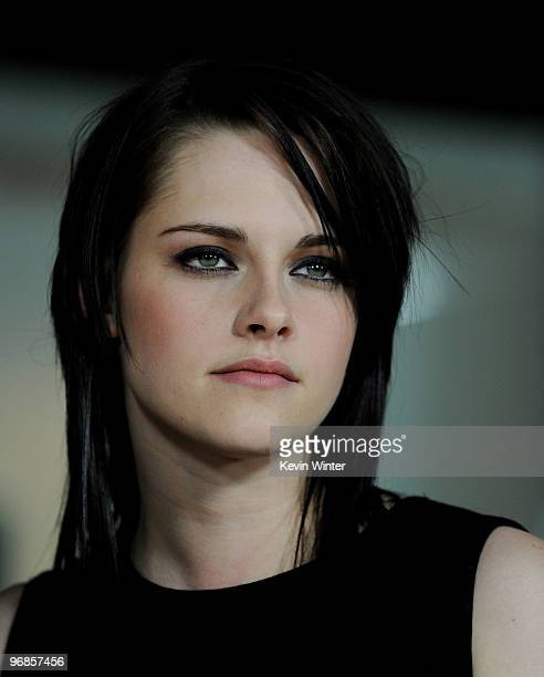 Actress Kristen Stewart attends the premiere of Samuel Goldwyn Films' The Yellow Handkerchief at the Pacific Design Center on February 18 2010 in...