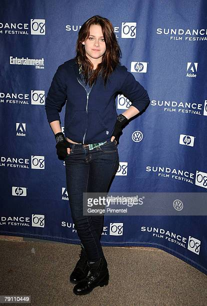 Actress Kristen Stewart attends the premiere of The Yellow Handkerchief during the 2008 Sundance Film Festival at the Eccles Theatre on January 18...