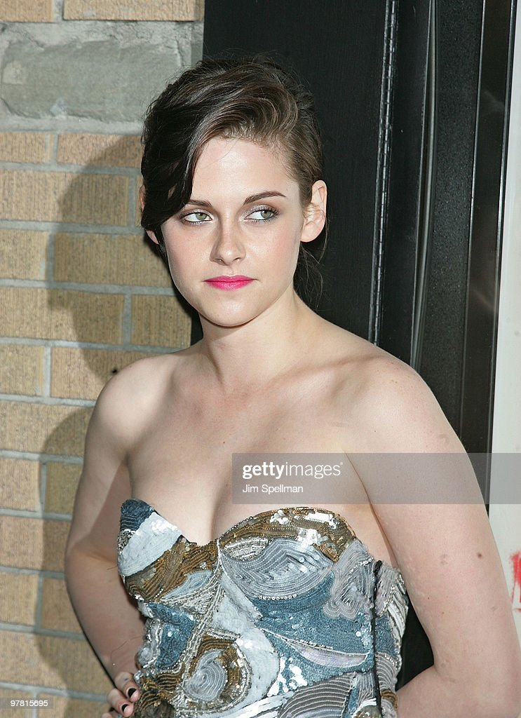 Actress Kristen Stewart attends 'The Runaways' New York premiere at Landmark Sunshine Cinema on March 17, 2010 in New York City.