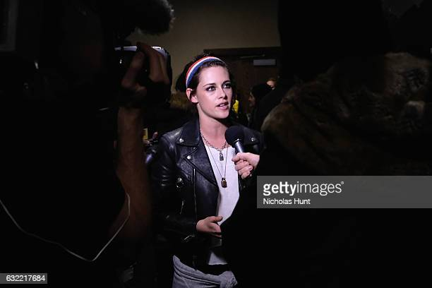 Actress Kristen Stewart attends the 'Short program 1' during day 1 of the 2017 Sundance Film Festival at Prospector Square on January 19 2017 in Park...