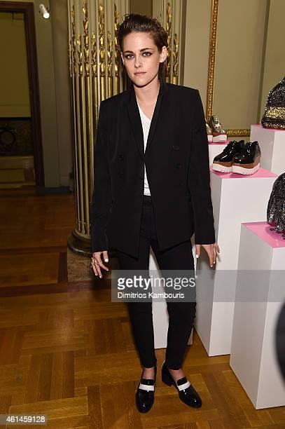 Actress Kristen Stewart attends the Stella McCartney Autumn 2015 presentation on January 12 2015 in New York City