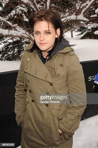 Actress Kristen Stewart attends the 'Welcome To The Rileys' premiere during the 2010 Sundance Film Festival at Racquet Club on January 23 2010 in...