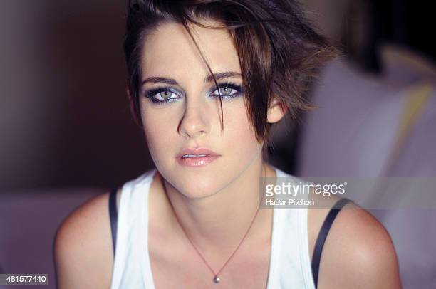 Actress Kristen Stewart is photographed for Byrdiecom on October 8 2014 in New York City PUBLISHED IMAGE