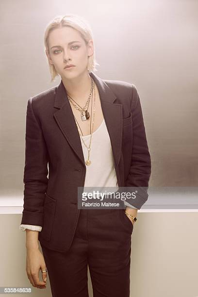 Actress Kristen Stewart is photographed for The Hollywood Reporter on May 14 2016 in Cannes France