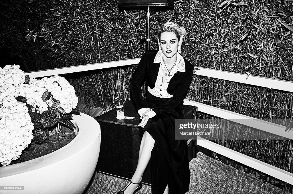 Actress Kristen Stewart is photographed for Vanity Fair Italy on May 12 2016 in Cannes, France.