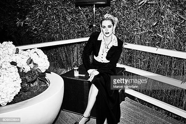Actress Kristen Stewart is photographed for Vanity Fair Italy on May 12 2016 in Cannes France