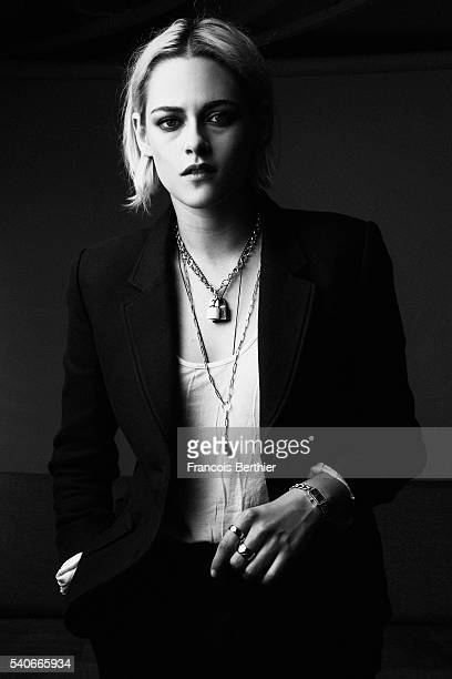 Actress Kristen Stewart is photographed on May 18 2016 in Cannes France