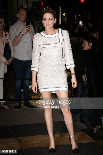 Actress Kristen Stewart is seen during the 71st annual Cannes Film Festival at on May 9 2018 in Cannes France