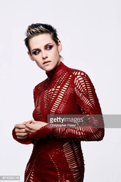 Actress Kristen Stewart poses for a portrait at the 31st Annual American Cinematheque Awards Gala at The Beverly Hilton Hotel on November 10 2017 in...