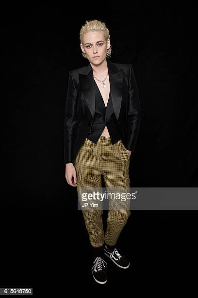 Actress Kristen Stewart poses for a portrait during the 54th New York Film Festival at Lincoln Center on October 6 2016 in New York City