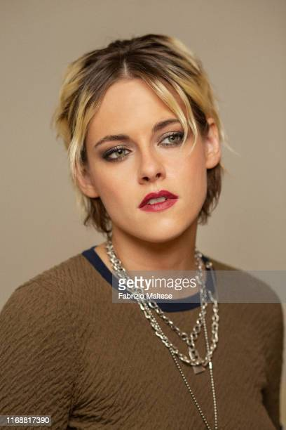 Actress Kristen Stewart poses for a portrait on August 28, 2019 in Venice, Italy.