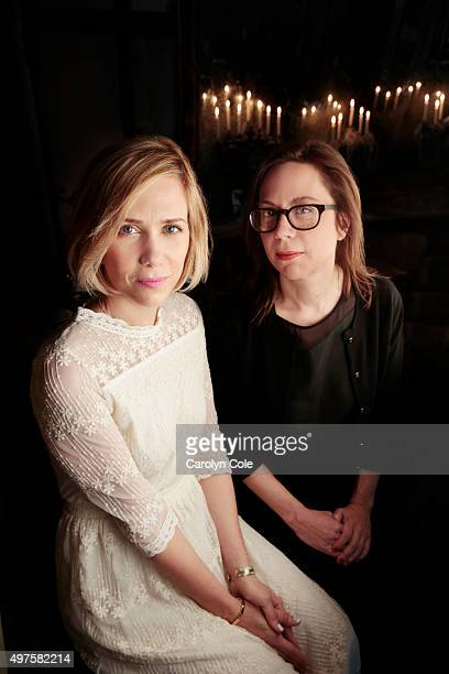 Actress Kristen Wiig and Liza Johnson are photographed for Los Angeles Times on April 8 2014 in New York City PUBLISHED IMAGE CREDIT MUST BE Carolyn...
