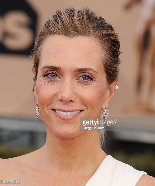 Actress Kristen Wiig arrives at the 22nd Annual Screen Actors Guild Awards at The Shrine Auditorium on January 30 2016 in Los Angeles California