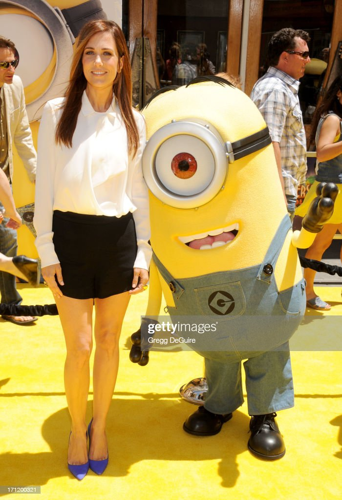 Actress Kristen Wiig arrives at the Los Angeles premiere of 'Despicable Me 2' at Universal CityWalk on June 22, 2013 in Universal City, California.