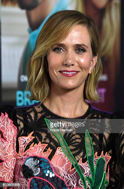 Actress Kristen Wiig arrives at the Premiere of Relativity Media's Masterminds at TCL Chinese Theatre on September 26 2016 in Hollywood California