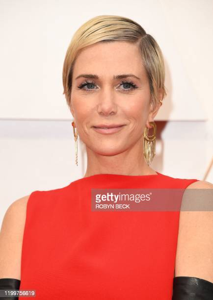 Actress Kristen Wiig arrives for the 92nd Oscars at the Dolby Theatre in Hollywood, California on February 9, 2020.