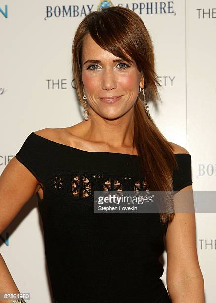 Actress Kristen Wiig attends a special screening hosted by The Cinema Society and Brooks Brothers with Bombay Sapphire at The IFC Center on September...