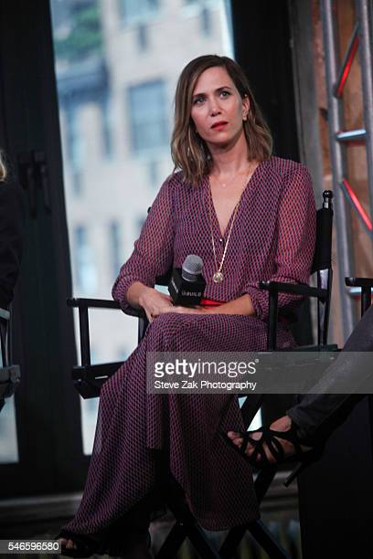 """Actress Kristen Wiig attends AOL Build Speaker Series: """"Ghostbusters"""" at AOL HQ on July 12, 2016 in New York City."""