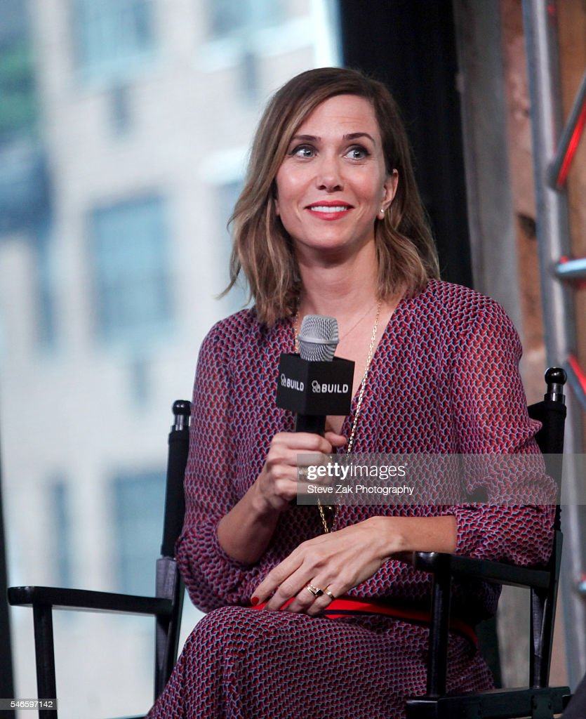 Actress Kristen Wiig attends AOL Build Speaker Series: 'Ghostbusters' at AOL HQ on July 12, 2016 in New York City.