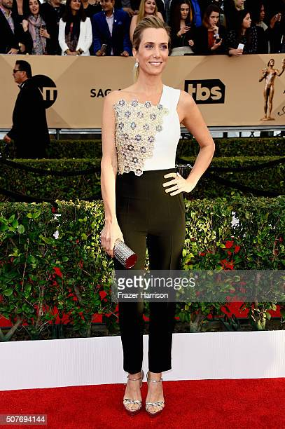 Actress Kristen Wiig attends the 22nd Annual Screen Actors Guild Awards at The Shrine Auditorium on January 30 2016 in Los Angeles California