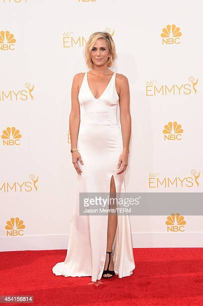 Actress Kristen Wiig attends the 66th Annual Primetime Emmy Awards held at Nokia Theatre L.A. Live on August 25, 2014 in Los Angeles, California.