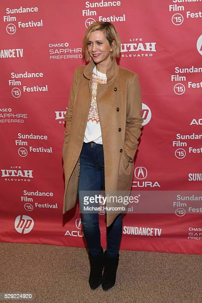 """Actress Kristen Wiig attends """"The Diary of a Teenage Girl"""" premiere at the 2015 Sundance Film Festival"""