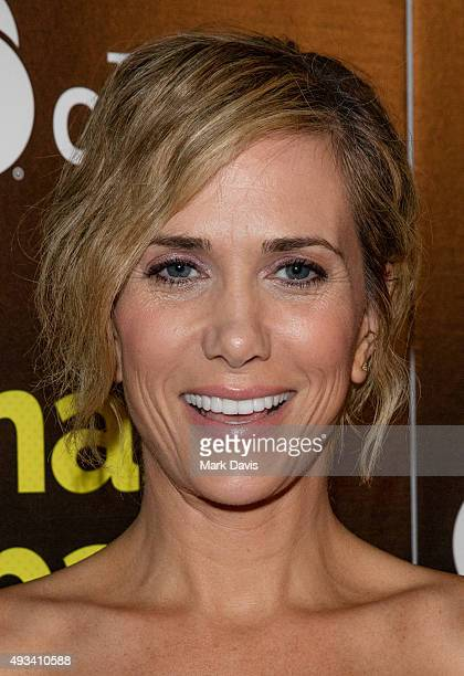 Actress Kristen Wiig attends the Los Angeles premiere of The Orchard's 'Nasty Baby' at ArcLight Cinemas on October 19, 2015 in Hollywood, California.
