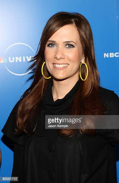 Actress Kristen Wiig attends the NBC Universal Experience at Rockefeller Center on May 12 2008 in New York City