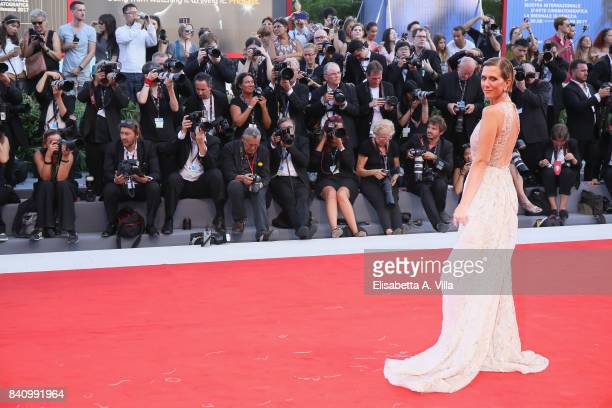 Actress Kristen Wiig attends the Opening Night Screening and World Premiere of 'Downsizing' during the 74th Venice Film Festival at Palazzo del...