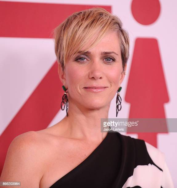 Actress Kristen Wiig attends the premiere of Downsizing at Regency Village Theatre on December 18 2017 in Westwood California