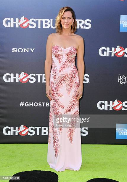 Actress Kristen Wiig attends the premiere of Sony Pictures' 'Ghostbusters' at TCL Chinese Theatre on July 9, 2016 in Hollywood, California.