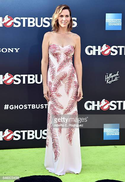 Actress Kristen Wiig attends the Premiere of Sony Pictures' Ghostbusters at TCL Chinese Theatre on July 9 2016 in Hollywood California