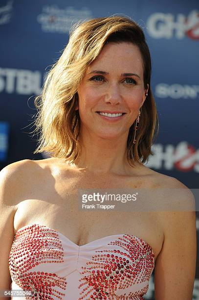 """Actress Kristen Wiig attends the premiere of Sony Pictures' """"Ghostbusters"""" held at TCL Chinese Theater on July 9, 2016 in Hollywood, California."""