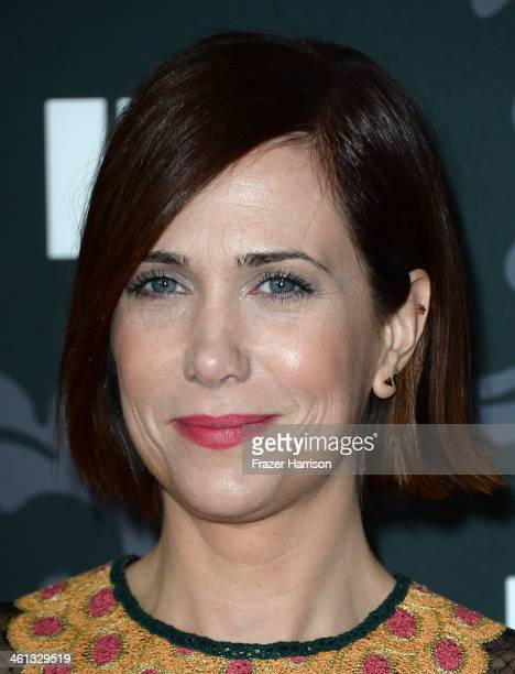 Actress Kristen Wiig attends the screening of IFC's The Spoils Of Babylon at DGA Theater on January 7 2014 in Los Angeles California