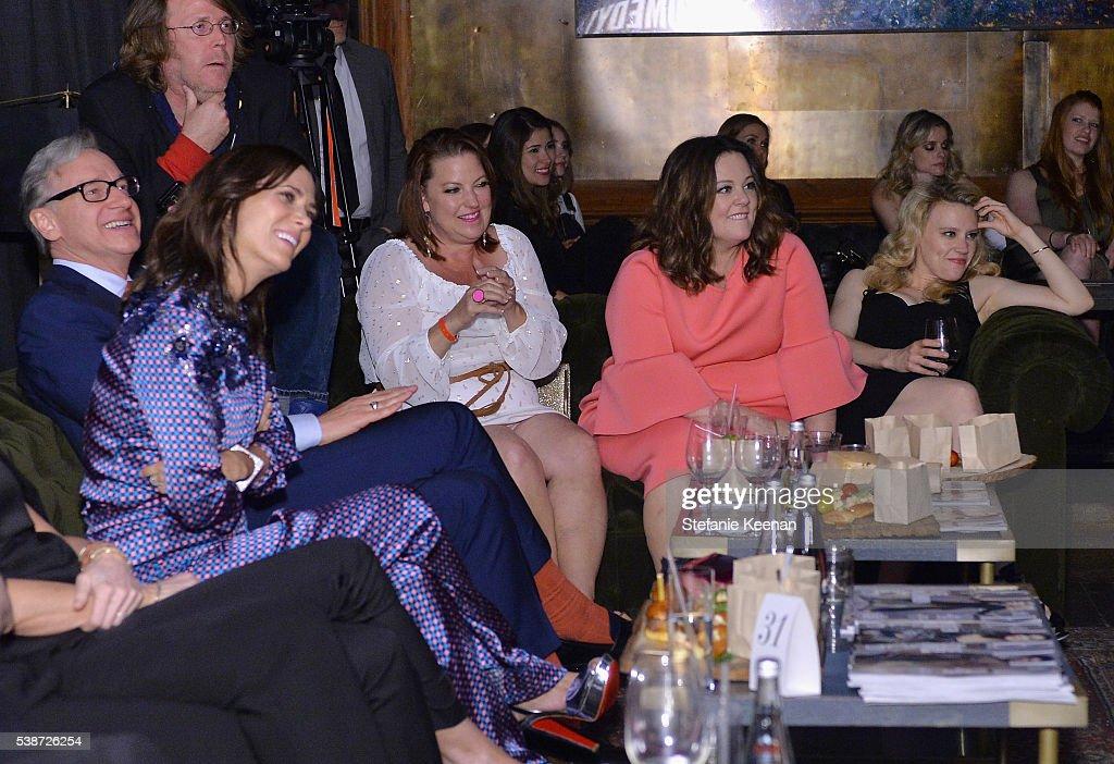 ELLE Hosts Women In Comedy Event With July Cover Stars Leslie Jones, Melissa McCarthy, Kate McKinnon And Kristen Wiig - Inside