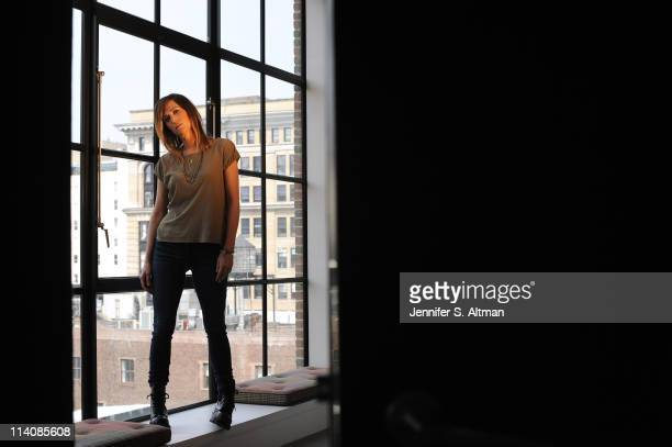 Actress Kristen Wiig is photographed for Los Angeles Times on April 11 2011 in New York City Published Image