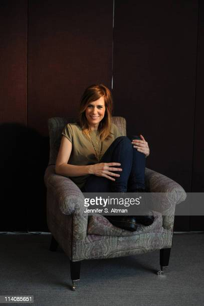 Actress Kristen Wiig is photographed for Los Angeles Times on April 11 2011 in New York City