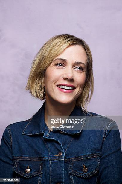 Actress Kristen Wiig is photographed for Los Angeles Times on January 24 2015 in Park City Utah PUBLISHED IMAGE CREDIT MUST READ Jay L Clendenin/Los...